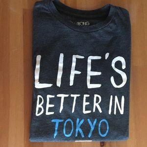 Billabong Life's better in Tokyo tee shirt